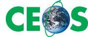 CEOS logo - centre